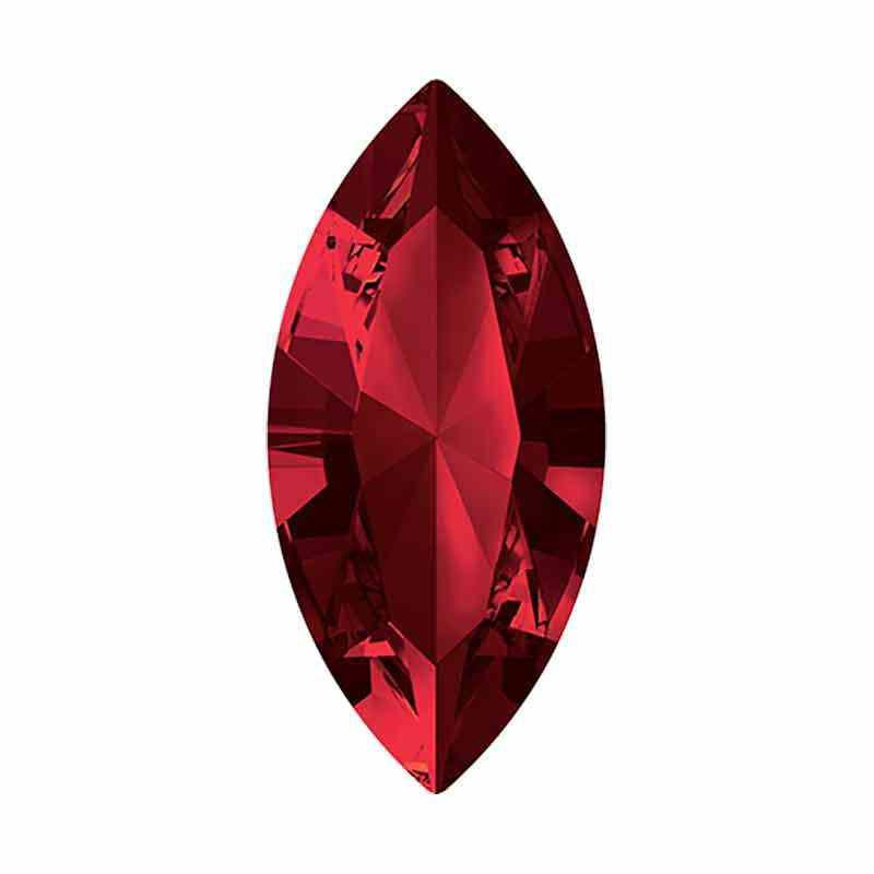 10x5mm Siam F XILION Navette Fancy Pierre 4228 Swarovski Crystal