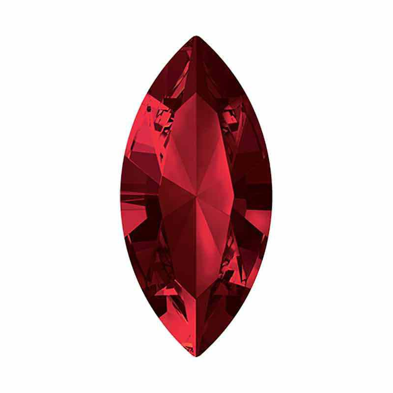 10x5mm Siam F XILION Navette Fancy Stone 4228 Swarovski Crystal