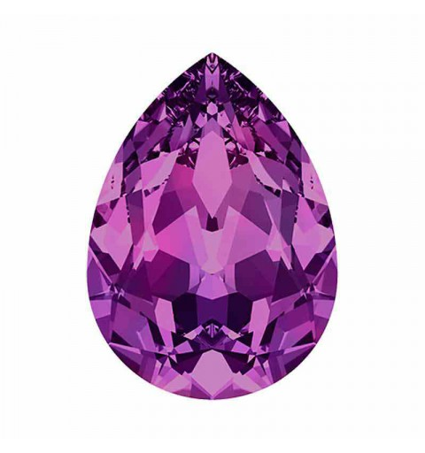 18x13mm Amethyst F Pear-Shaped Fancy Stone 4320 Swarovski Crystal