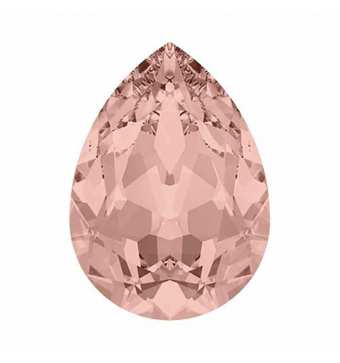 10x7mm Vintage Rose F Pear-Shaped Fancy Stone 4320 Swarovski Crystal