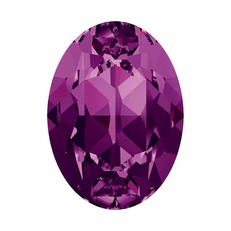 18x13mm Amethyst F Ovale Fancy Cristal 4120 de Swarovski