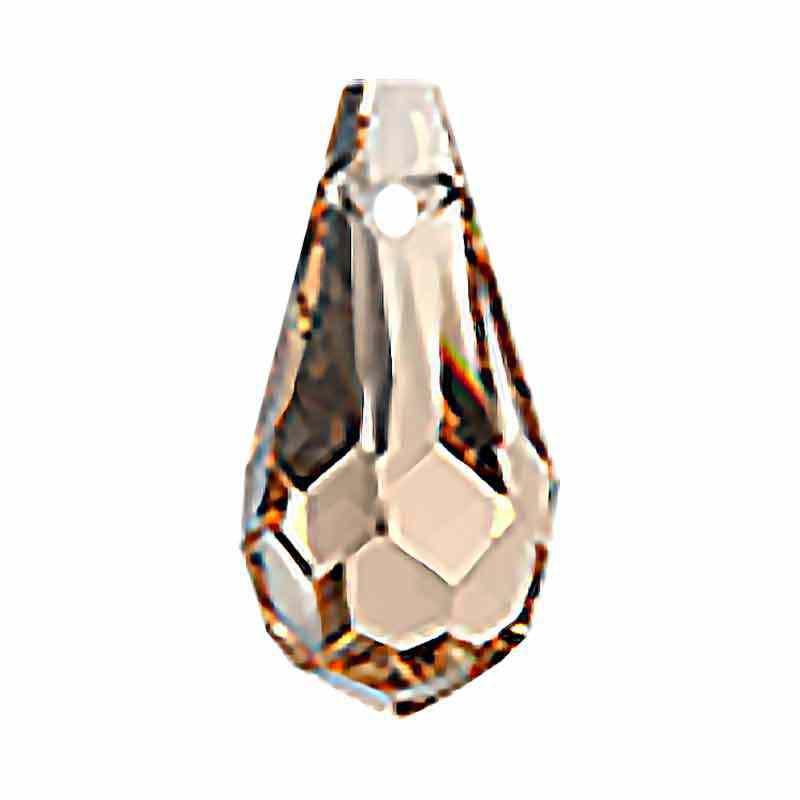 6.5x13MM Cristal Honey Drop de Pendentif 984 Preciosa