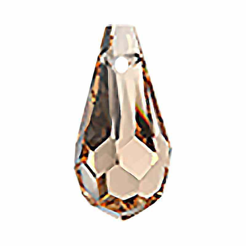 6.5x13MM Crystal Honey Drop Riipukset 984 Preciosa