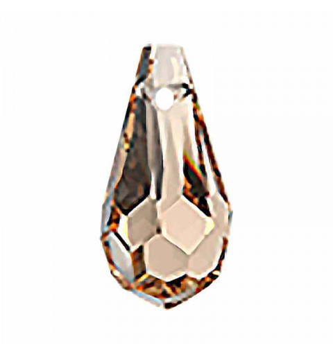 6.5x13MM Crystal Honey Drop Pendant 984 Preciosa