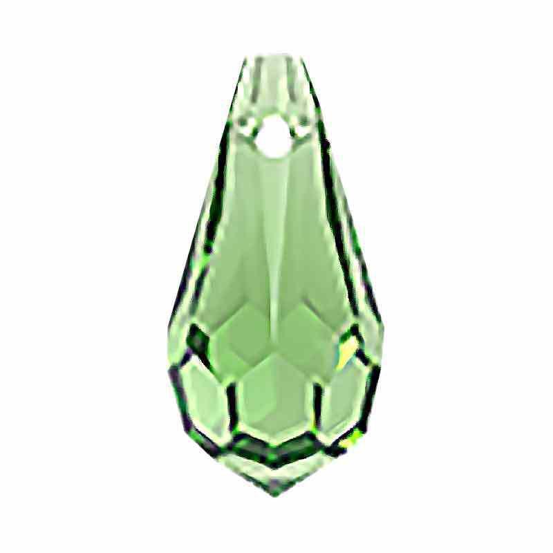 6.5x13MM Peridot Drop de Pendentif 984 Preciosa