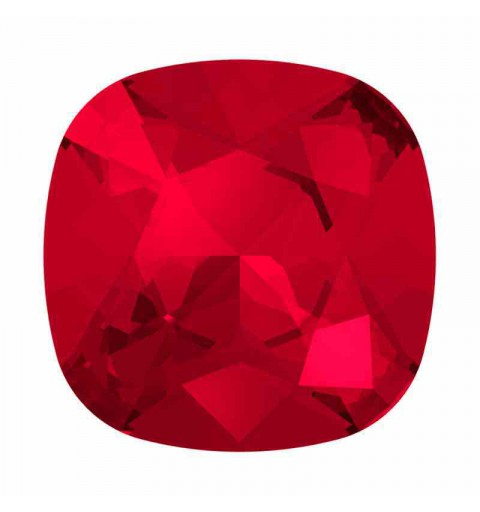 12mm Scarlet F Cushion Square Fancy Stone 4470 Swarovski