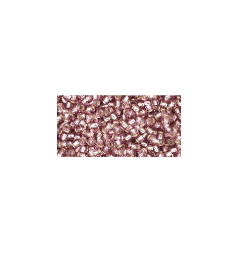 TR-11-26 SILVER-LINED LT. AMETHYST TOHO SEED BEADS