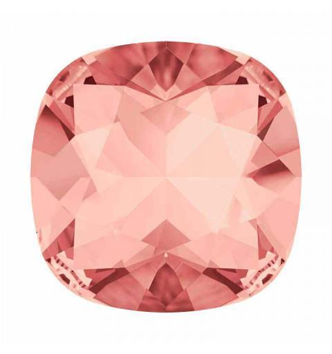 10mm Rose Peach F Padjakujuline Ruudune Ehte Kristall 4470 Swarovski