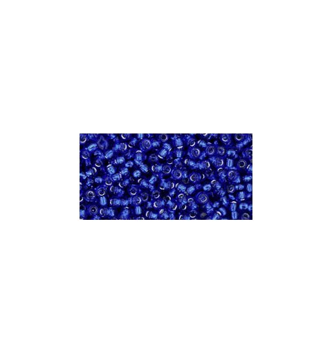 TR-11-28 SILVER-LINED COBALT TOHO SEED BEADS