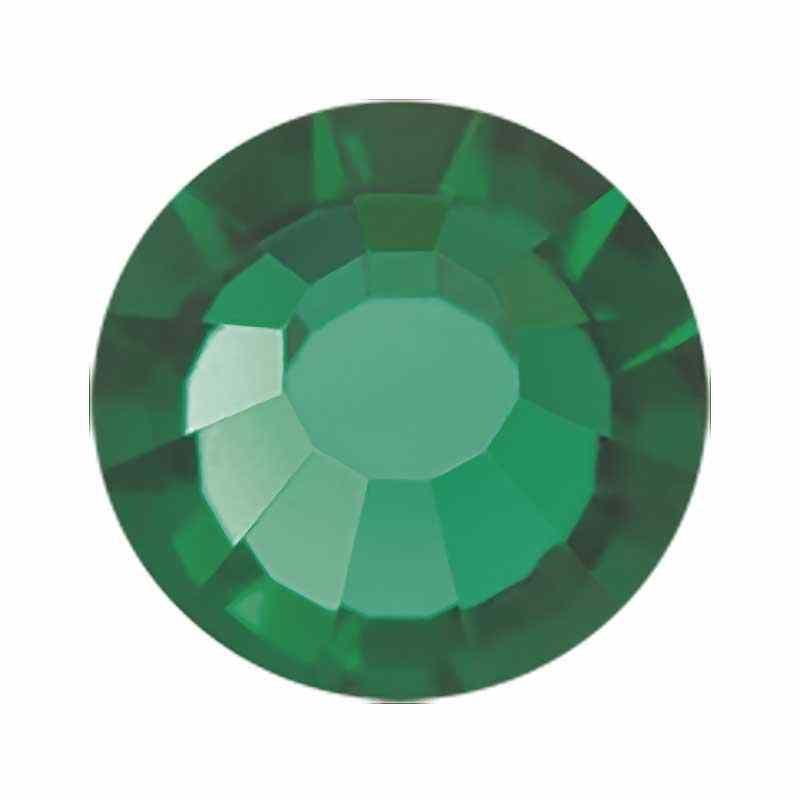 SS20 Emerald LID HF VIVA12 PRECIOSA Strass