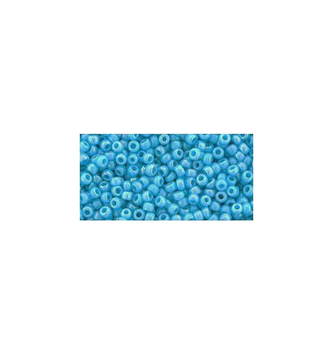 TR-11-403 OPAQUE-RAINBOW BLUE TURQUOISE TOHO SEED BEADS