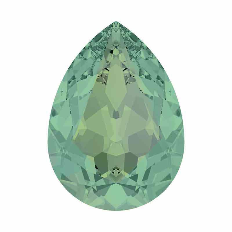 14x10mm Pacific Opal F Pear-Shaped Fancy Stone 4320 Swarovski Crystal