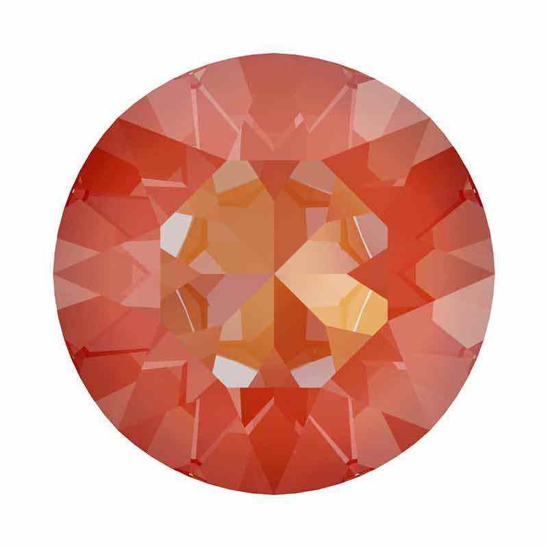 SS39 (~8.25mm) Orange Glow DeLite 1088 XIRIUS Chaton SWAROVSKI
