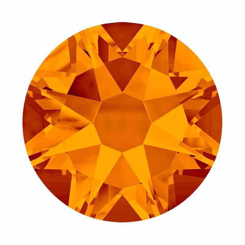 2088 SS20 Tangerine F XIRIUS SWAROVSKI CRYSTALS