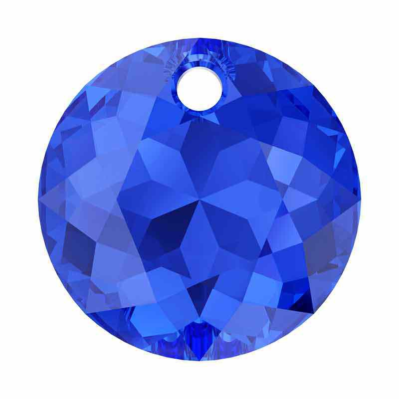 14MM Majestic Blue Classic Cut Подвески 6430 SWAROVSKI