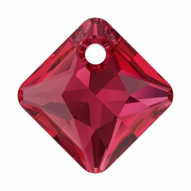 16MM Scarlet Princess Cut Riipukset 6431 SWAROVSKI