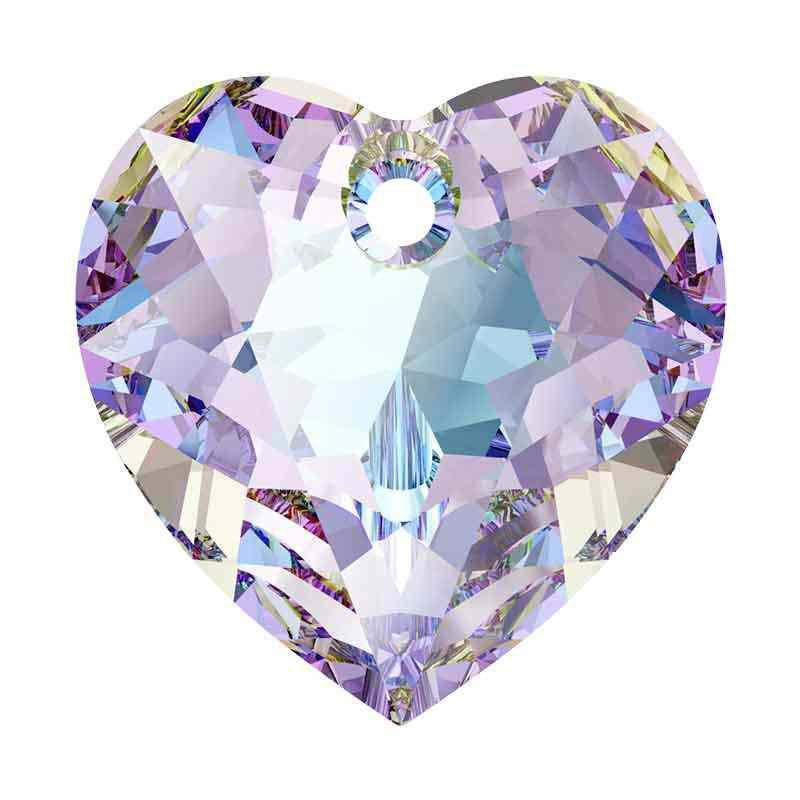 14.5MM Vitrail Light Heart Cut Riipukset 6432 SWAROVSKI