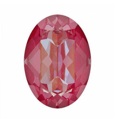 14x10mm Lotus Pink DeLite Oval Fancy Stone 4120 Swarovski