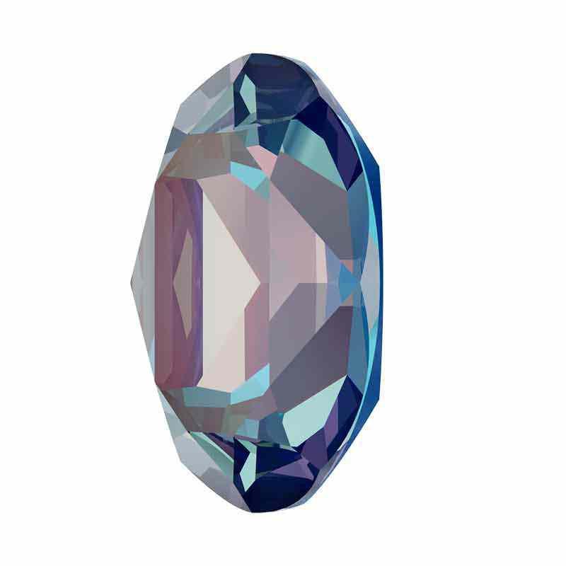 14x10mm Royal Blue DeLite Oval Fancy Stone 4120 Swarovski