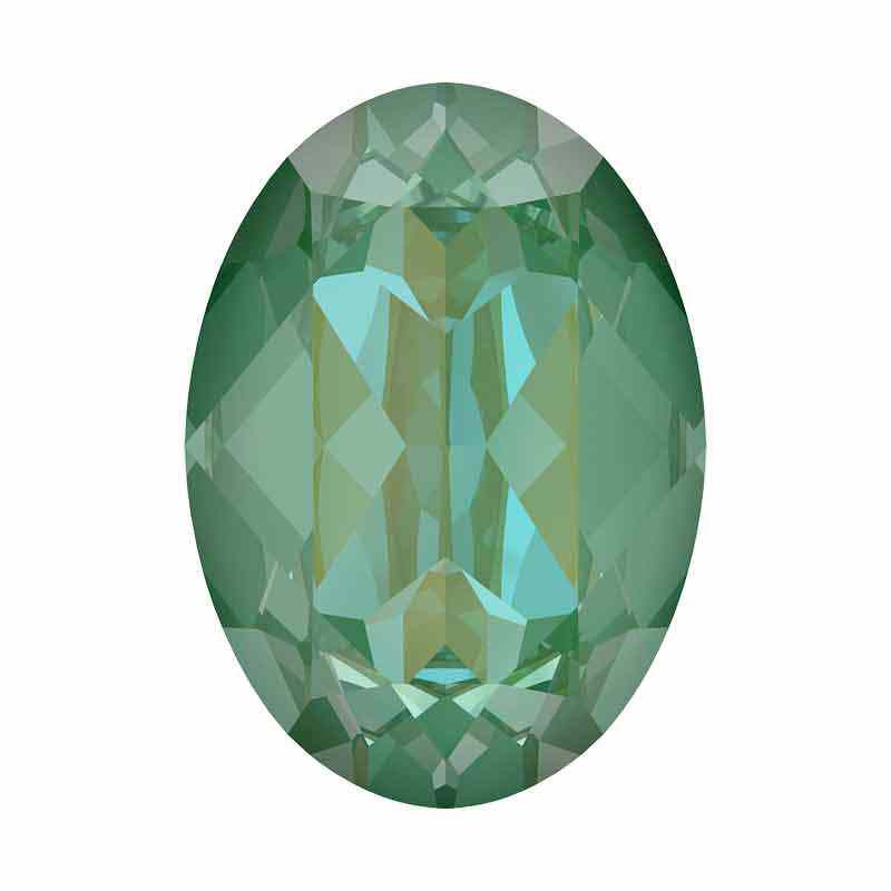 14x10mm Silky Sage DeLite Oval Ehete Kristall 4120 Swarovski