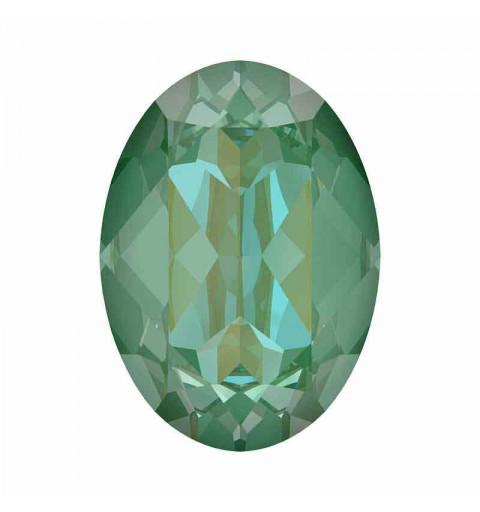 14x10mm Silky Sage DeLite Ovale Fancy Cristal 4120 de Swarovski