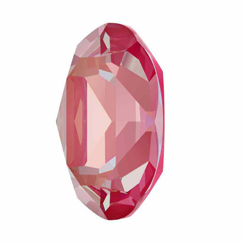 18x13mm Lotus Pink DeLite Oval Fancy Stone 4120 Swarovski