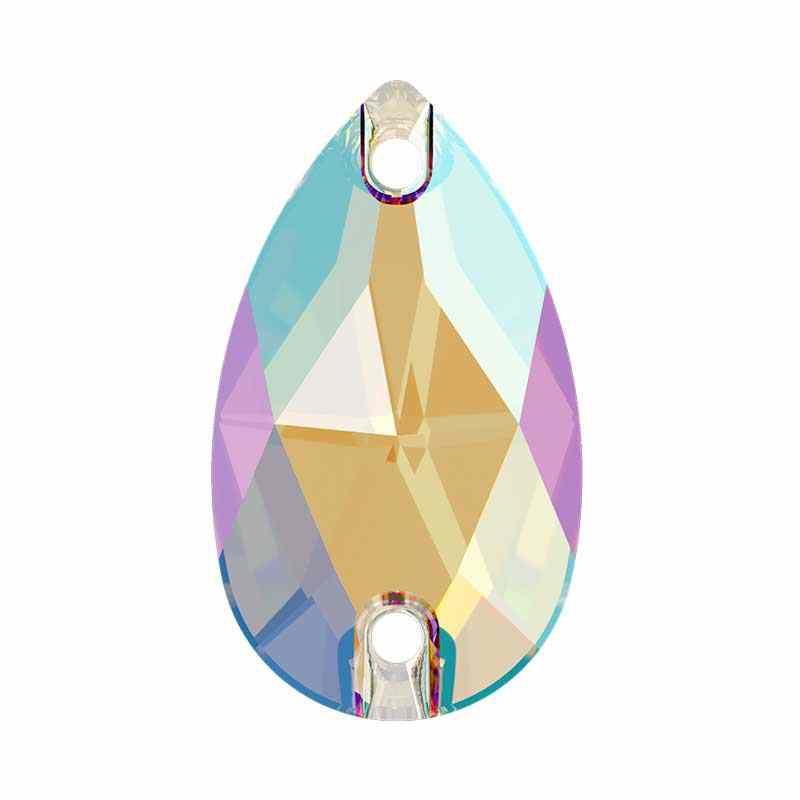 12X7MM Black Diamond Shimmer F 3230 Goutte SWAROVSKI