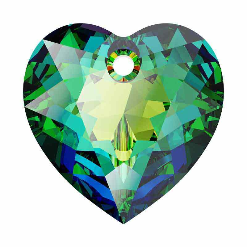 14.5MM Vitrail Medium Heart Cut Pendant 6432 SWAROVSKI