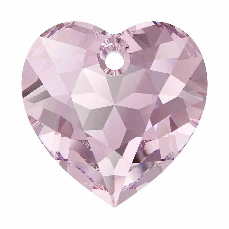14.5MM Light Amethyst Heart Cut de Pendentif 6432 SWAROVSKI