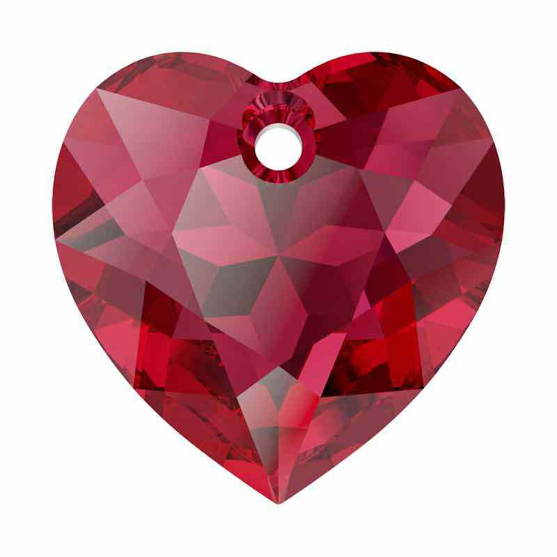 14.5MM Scarlet Heart Cut Pendant 6432 SWAROVSKI