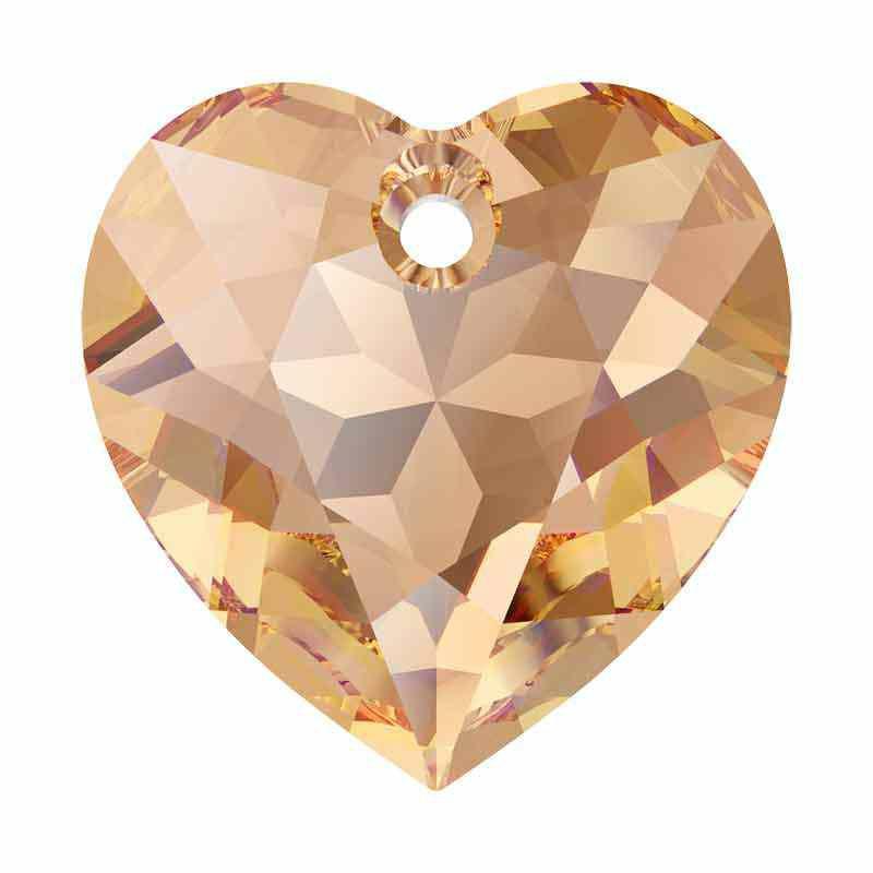 14.5MM Lt. Colorado Topaz Heart Cut de Pendentif 6432 SWAROVSKI