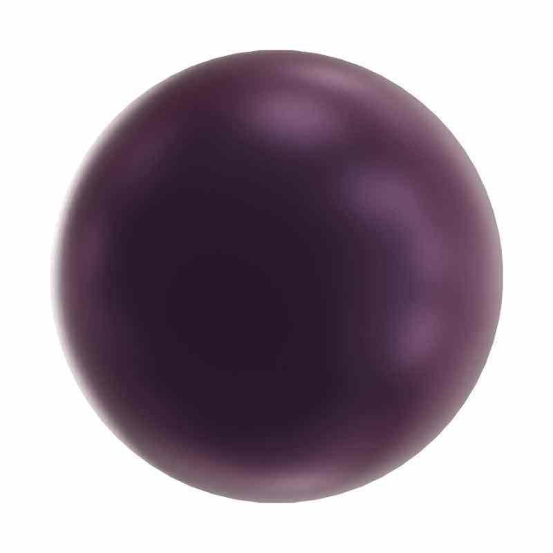4MM Elderberry Kristalli Pyöreä Helmi 5810 SWAROVSKI