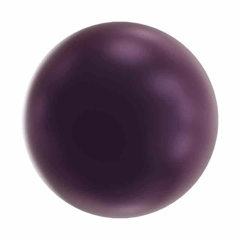 5MM Elderberry Kristalli Pyöreä Helmi 5810 SWAROVSKI
