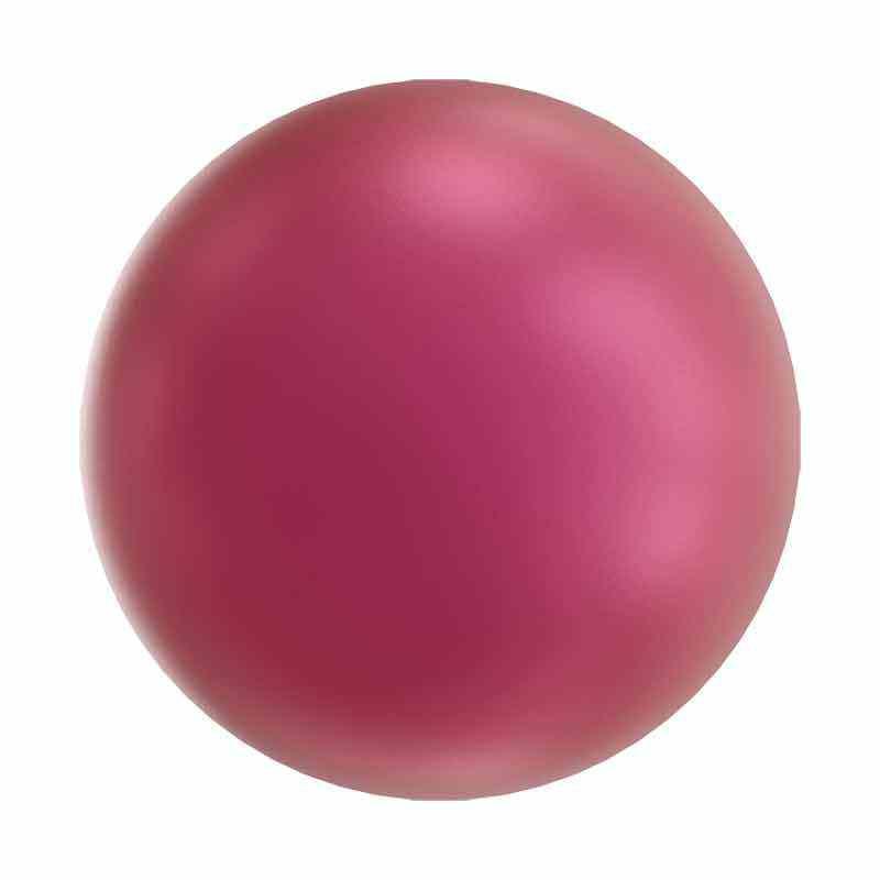 2MM Cristal Mulberry Pink Perles 5810 SWAROVSKI