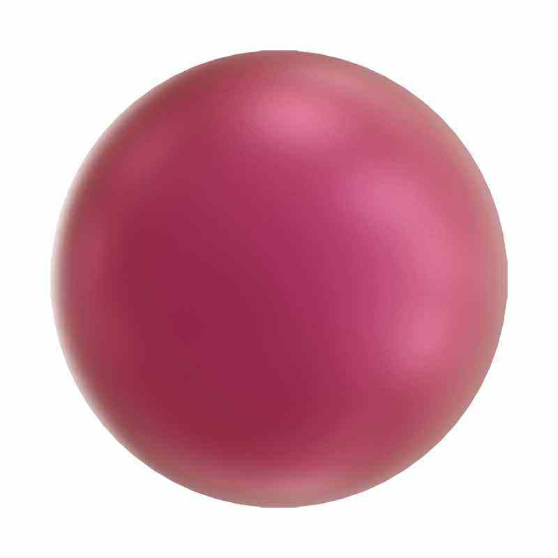 6MM Crystal Mulberry Pink Pearl 5810 SWAROVSKI
