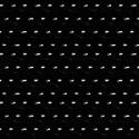 4mm Musta Posliini Paillettes LM France
