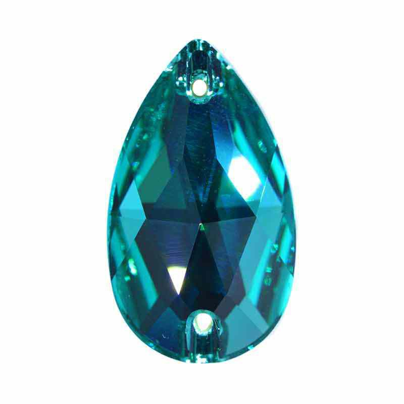 28X17MM Blue Zircon F 3230 Drop SWAROVSKI