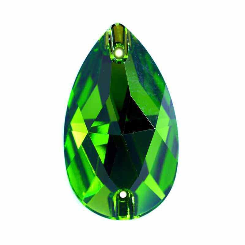 28X17MM Fern Green F 3230 Drop SWAROVSKI