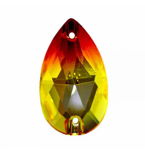 28X17MM Fireopal F 3230 Drop SWAROVSKI