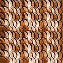 4mm Bronze Etincelle 2530 Paillettes LM France
