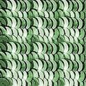 4мм Серо-Зеленые Etincelle 2511 Пайетки LM Франция