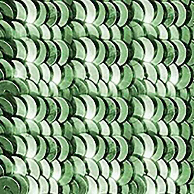 4mm Vert de gris Etincelle 2511 Paillettes LM France
