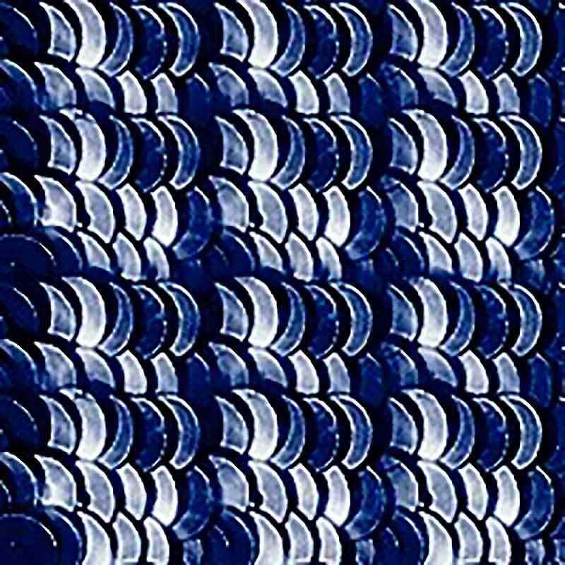 4mm Mörk marinblå Metallic 2075-S Paillettes LM France