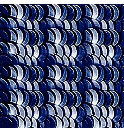 4mm Dark Navy Blue Metallic 2075-S Paillettes LM France