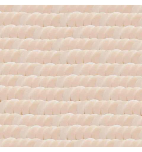 4mm Beige rosé Porcelaine Paillettes LM France