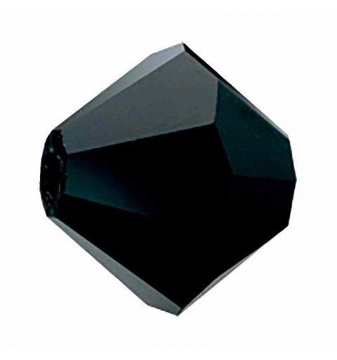 3MM Чёрный BiCone Rondell Preciosa бусины