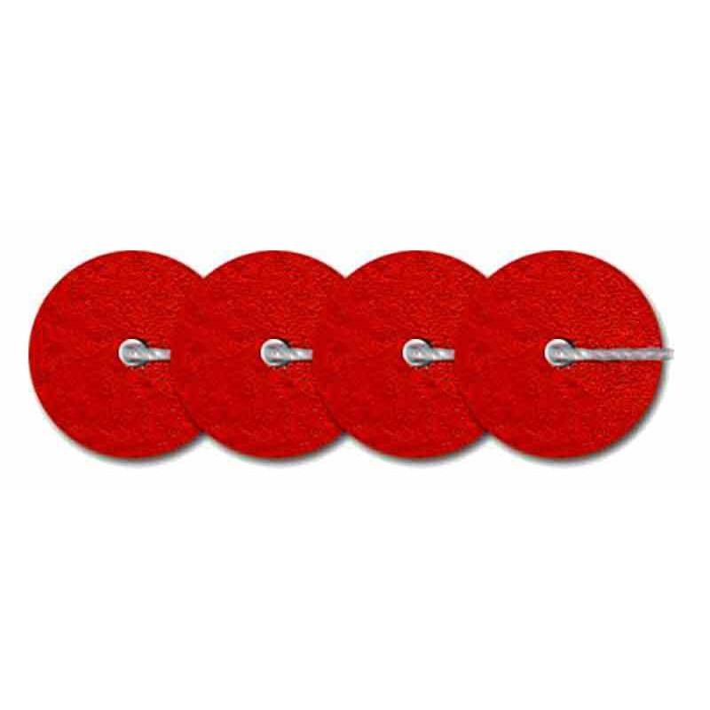 4mm Rouge Metallic Mat 10006 Paillettes LM France