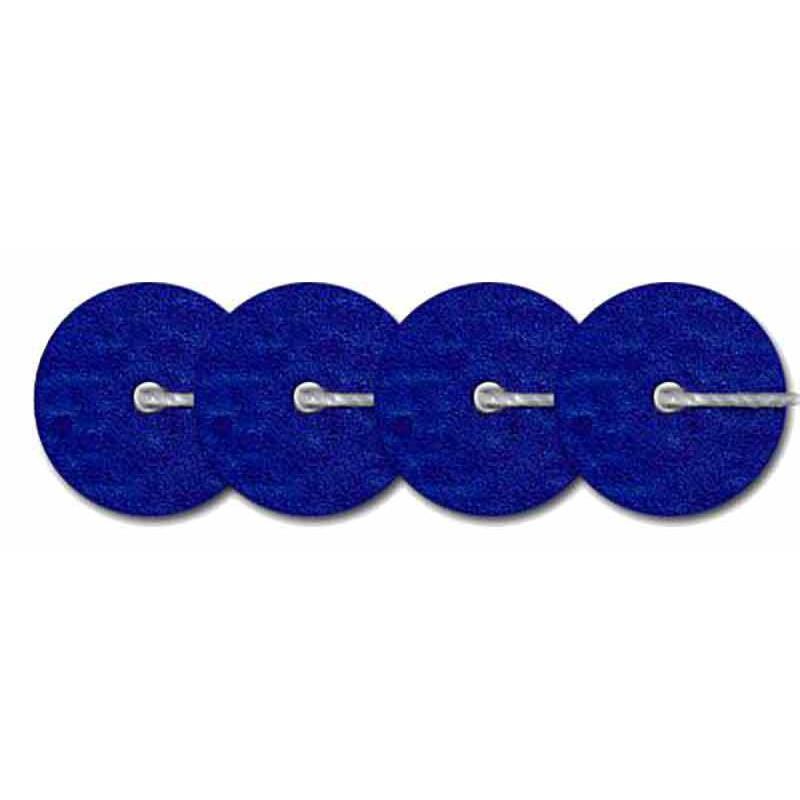 4mm Bleu Marine Metallic Mat 10031 Paillettes LM France