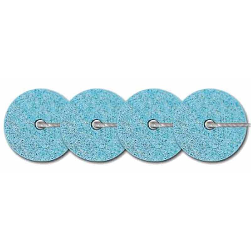 4mm Bleu moyen Metallic Mat 10035 Paillettes LM France