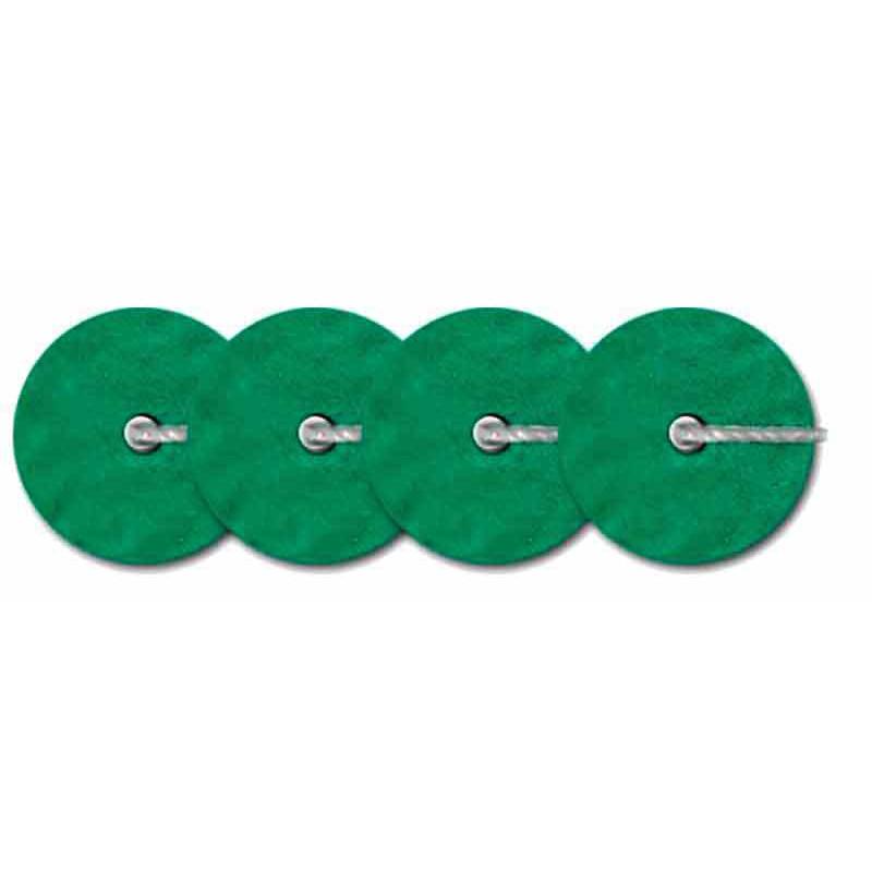 4мм Темно-зеленый Metallic Mat 10046 Пайетки LM Франция